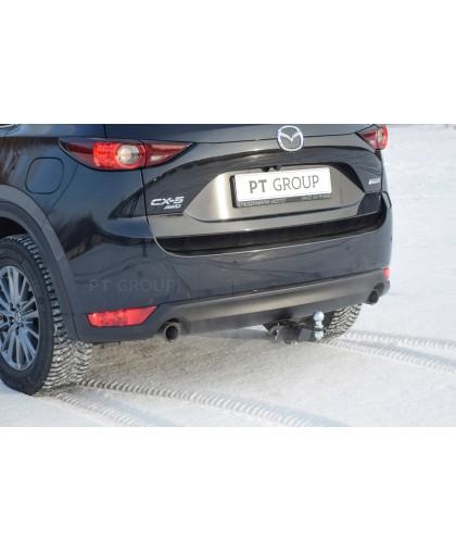 Фаркоп на Mazda CX-5 2011-2017, 2017- (легкосъемный шар под квадрат)