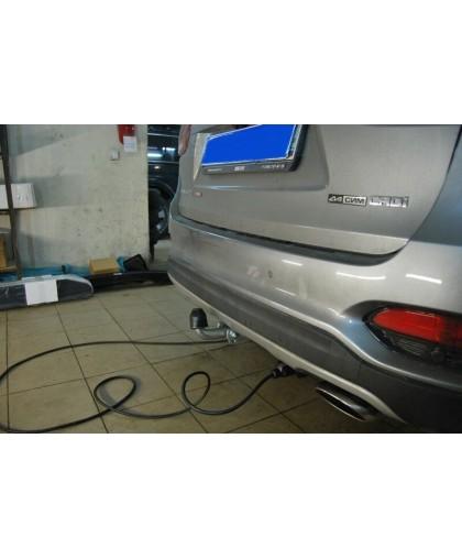 Фаркоп на Hyundai Santa Fe 2012-2018, 2018-, Kia Sorento 2012-2015, 2015-