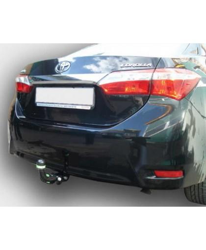 Фаркоп Лидер Плюс T117-A для Toyota Corolla 4D (E18) Sedan