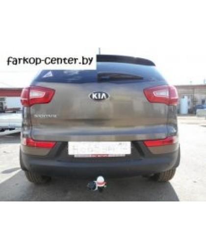 Фаркоп на Hyundai ix35 2010-