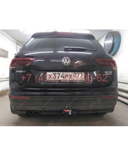 Фаркоп Bosal Russia 2155-A для Volkswagen Tiguan 2016-