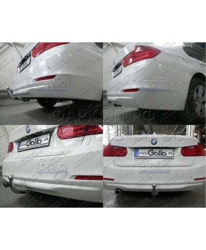 Полностью оцинкованный фаркоп для BMW 1-серии (F20)/(F21)