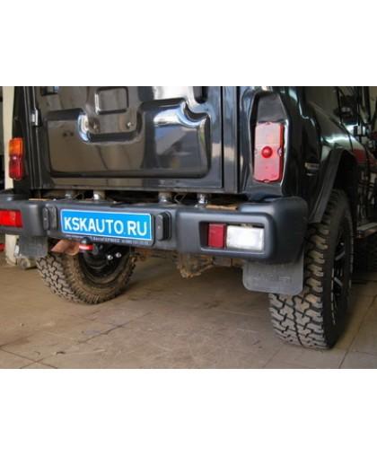 Фаркоп Bosal Russia 6501-A на УАЗ 469, 31512, 31514, 2206, 3303, 3909, 3962, 3741 4x4 1972-