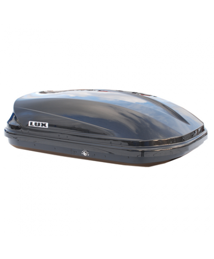 Бокс LUX390 360L черный металлик 1390х900х390 с двустор. откр.