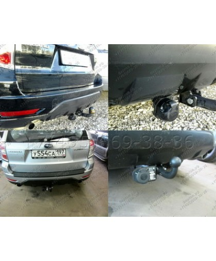 Фаркоп Imiola U.005 на Subaru Forester 2008-2013