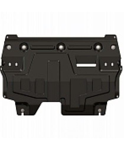 Защита двигателя Шериф VW Поло Седан (облегченная)